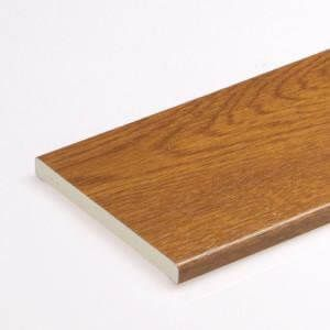 Soffit Board - 100mm x 10mm x 5mtr Golden Oak