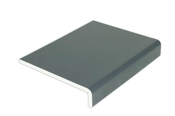 Cover Board Box End - 454mm x 9mm x 1.25mtr Anthracite Grey Woodgrain - OUT OF STOCK