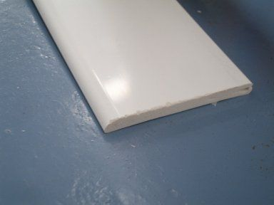 PVC Architrave - 45mm x 5mtr White - OUT OF STOCK