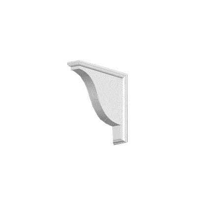 Cornice Moulding Exterior Feature Corbel - White