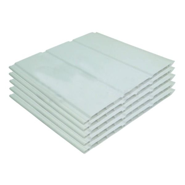Hollow Soffit Board - 300mm x 10mm x 5mtr White - Pack of 5
