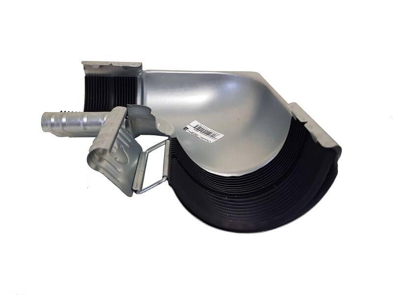 Steel Gutter Internal Angle - 90 Degree x 100mm Galvanised
