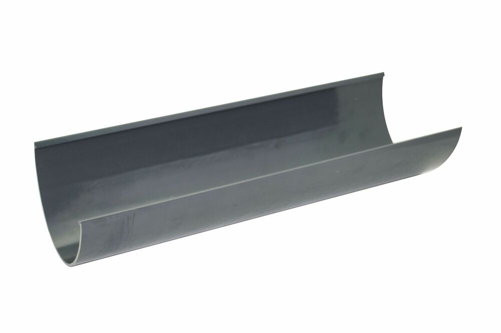 Deepflow/ Hi-Cap Gutter - 115mm x 75mm x 4mtr Anthracite Grey
