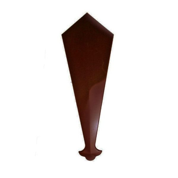Replacement Fascia Bargeboard Finial - 340mm Rosewood