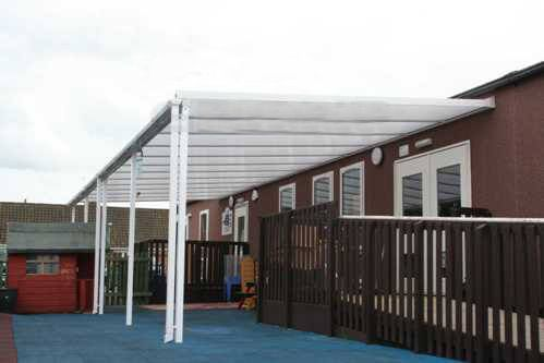 Storm Carport - 6mtr Length x 2mtr Projection
