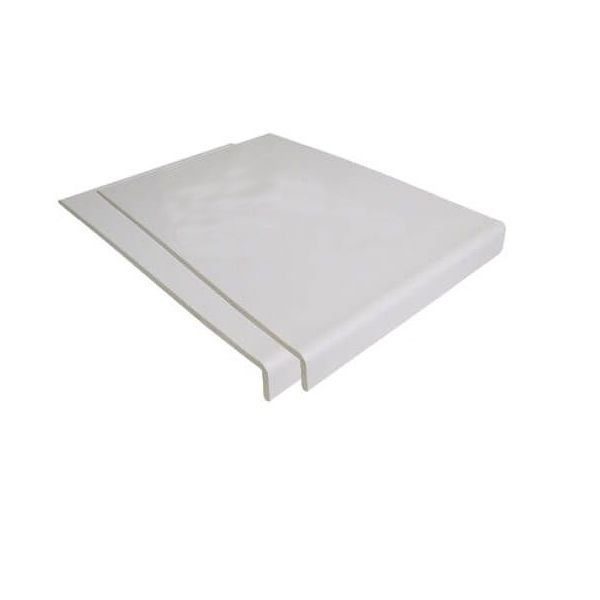Cover Board - 200mm x 9mm x 5mtr White - Pack of 2