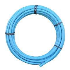 MDPE Pipe - 25mm x 150mtr Blue