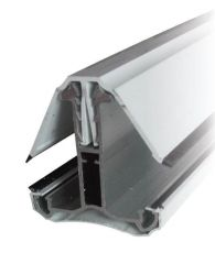 Rafter Bar Intermediate Bar Self Supported - 2mtr White