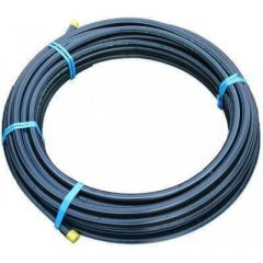 MDPE Pipe - 20mm x 25mtr Black - OUT OF STOCK