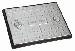Steel Manhole Cover - 2.5 Tonne x 600mm x 450mm