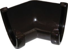 Deepflow/ Hi-Cap Gutter Angle - 135 Degree x 115mm x 75mm Brown