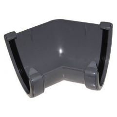 Deepflow/ Hi-Cap Gutter Angle - 135 Degree x 115mm x 75mm Grey