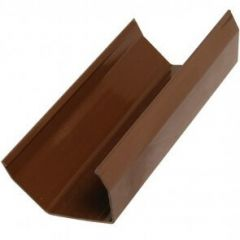 Square Gutter - 114mm x 2mtr Brown