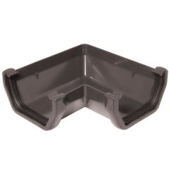 Square Gutter Angle - 90 Degree Anthracite Grey