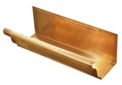 Copper Large Ogee Gutter - 152mm x 2.4mtr Length