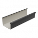 Square Gutter Large - 135mm x 4mtr Anthracite Grey