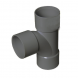 Solvent Weld Waste Tee - 32mm Grey