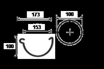 150mm Steel Gutter Dimensions